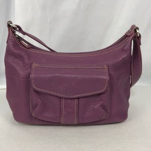 Fossil Leather Handbag Shoulder Style